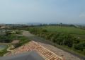 展望塔から見る公園の北側