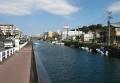 坂下橋から見る掘割川