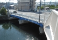 歩道橋から見る八幡橋