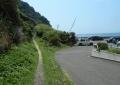 小坪海岸通り南端