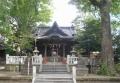 拝殿と御神木