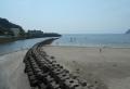渚橋から見る逗子海岸