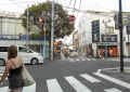 八幡通りと銀座通りの交差点