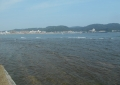 浪子不動園地から見る逗子湾