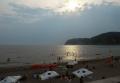 夕暮れの逗子海岸①