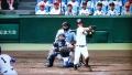 四回、大阪桐蔭、宮崎の3点本塁打