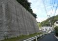 鷹取山へ登る道