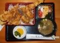 昼に食した穴子天丼