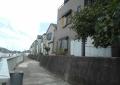 湾岸沿いの住宅