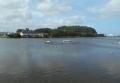 平潟湾河口(向かいに見えるのは野島)