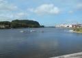 現在の平潟湾河口