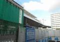 反対側から見たシーサイドライン金沢八景新駅