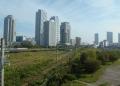 跨線橋から見る神奈川方面