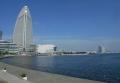 新港パークから見る臨港パーク