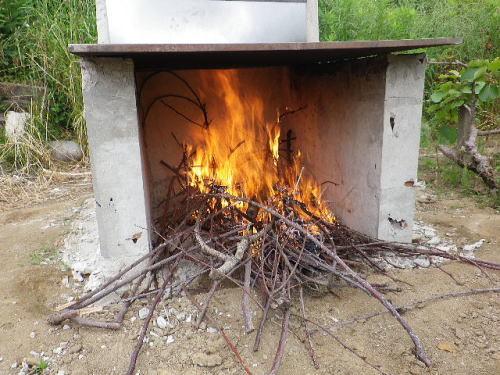 焼却炉 2018 5 29-1