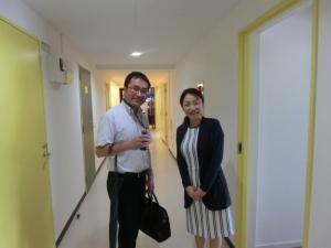 小野先生と勝田社長のツーショットも頂きました♪