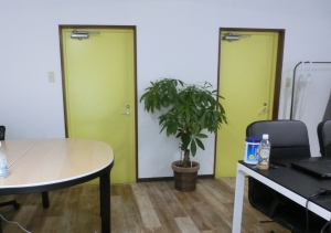 オフィス家具もオシャレです♪