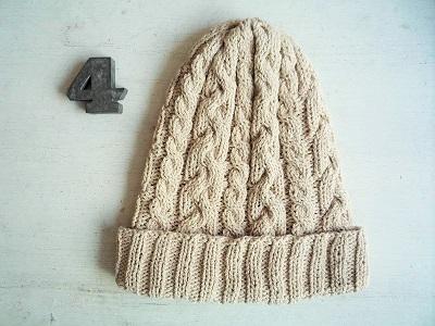 コットン帽子C