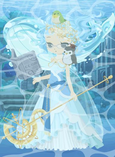 海底神殿の女神
