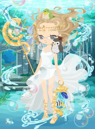 海底神殿の神官