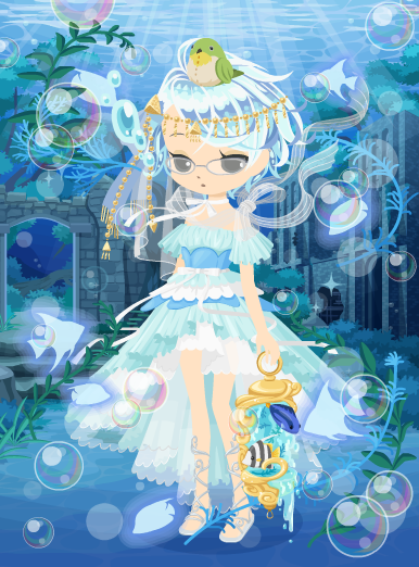 海底神殿の精霊