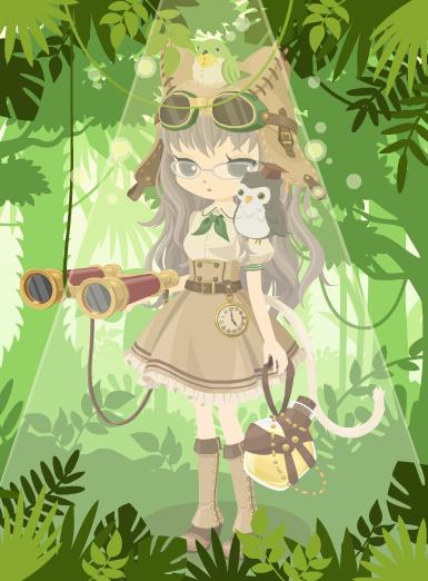 トレニャーワンピ(しっぽ)