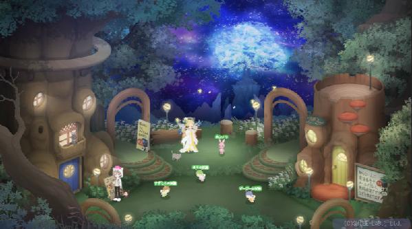 蝶の妖精広場