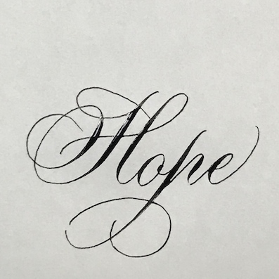 180407文字hope