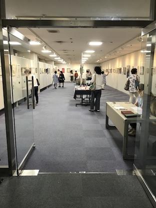 180702作品展会場入口