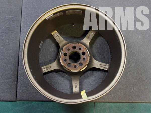 レイズの鍛造アルミホイール グラムライツ57F ブロンズ