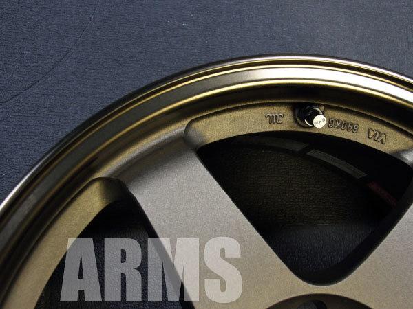 鍛造アルミホイールの修理 ニスモ LM GT4