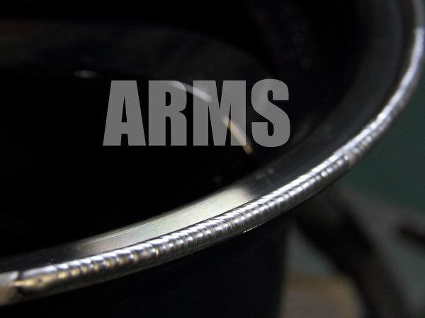 アルミ溶接でのホイール修理