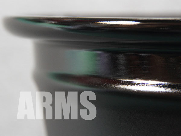 フォルクスワーゲン ポロの純正アルミホイールを修理 ARMS