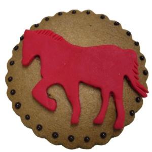 馬のモチーフクッキープレート