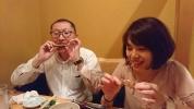 学会 夕食2