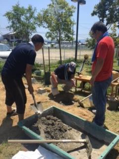 園庭整備3