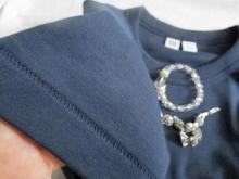 ユニクロユーのクルーネックTシャツ とワイドパンツコーデ (8)
