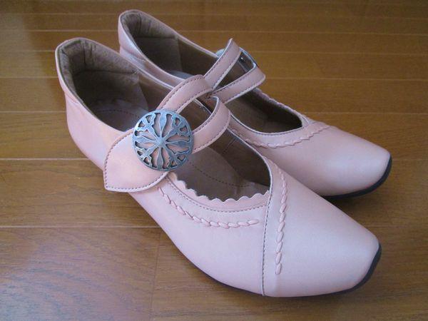 サンクリスピン 靴 コンフォートパンプス  (1)