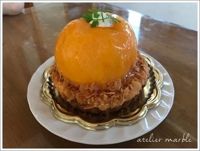 桃のタルト 神栖 マサキ