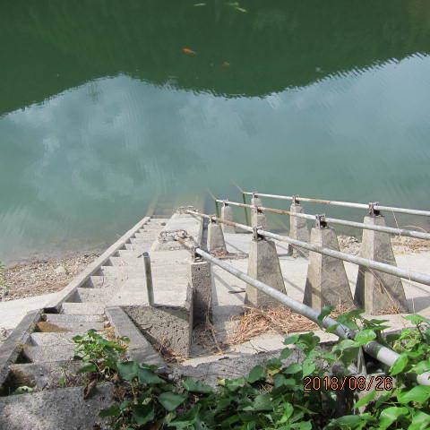 ため池の栓