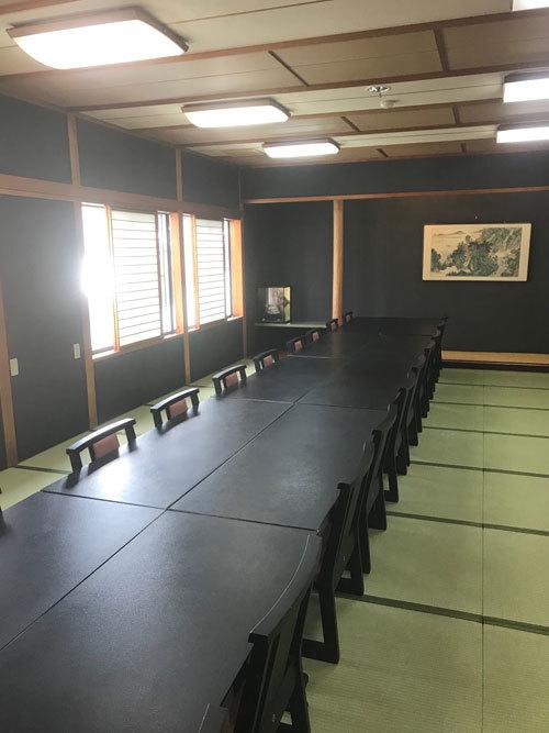 箱根 中宴会場 リフォーム