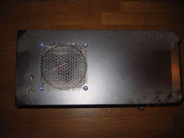 サブ PC、Antec ゲーミング PC ケース Three Hundred Two AB 天板ファンガード、アルミファンフィルターのホコリ