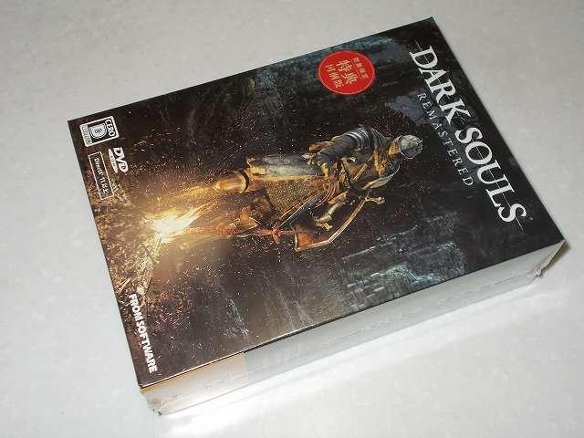 DARK SOULS REMASTERED 数量限定特典 上級騎士バストアップフィギュア付き PC パッケージ版購入