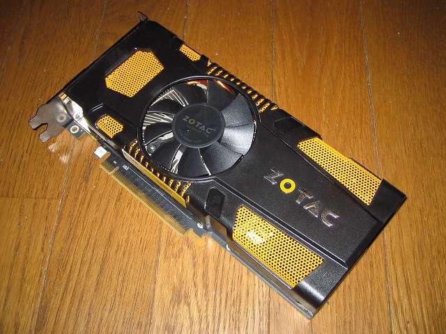 ASUS P8Z68-V PRO/GEN3 に接続するビデオカード ZOTAC GeForce GTX 570 ZT-50203-10M