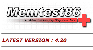 Memtest86+ Advanced Memory Diagnostic Tool