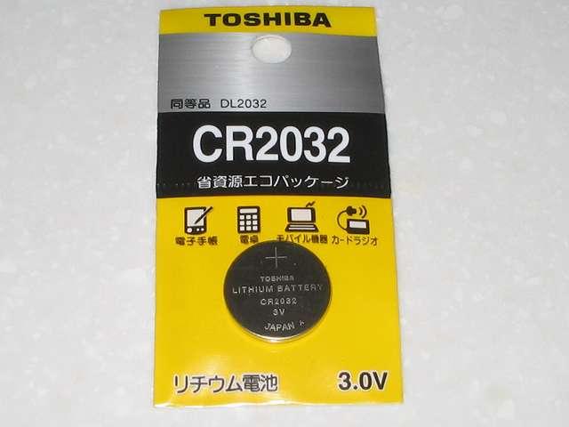 ASUS P8Z68-V PRO/GEN3 用に購入した CMOS バッテリー、TOSHIBA CR2032 リチウムイオン電池(同等品 DL2032) 省資源エコパッケージ