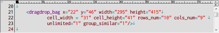 S.T.A.L.K.E.R Shadow of Chernobyl インベントリ改造 Mod、アンパックした def_gamedata フォルダから config → ui フォルダの inventory_new_16.xml をコピーしてテキストエディタで編集、dragdrop_bag の数値を変更、画像はデフォルト値(10行 9列、90マス)