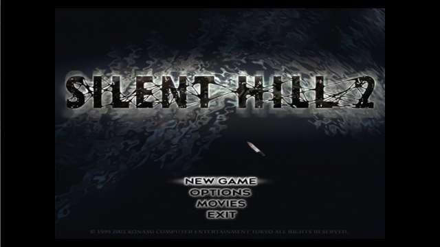 PC ゲーム SILENT HILL 2 がディスクレスでゲームが起動できれば成功、カーソルがナイフに変更
