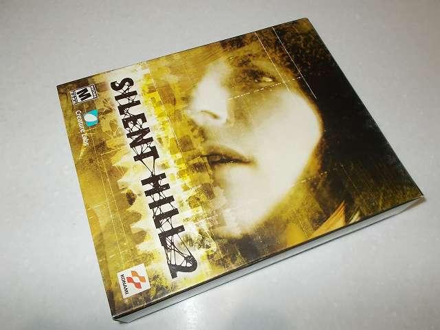 サバイバルホラーアドベンチャー PC ゲーム SILENT HILL 2 北米版パッケージ