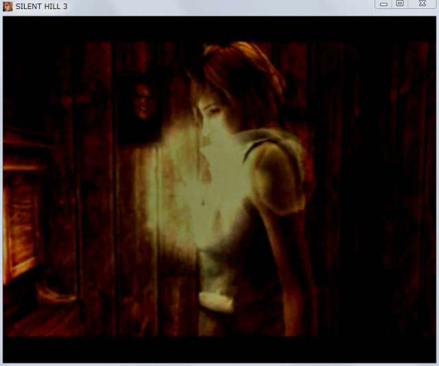 PC ゲーム SILENT HILL 3 オープニングムービー開始 30秒後に映像だけが止まる現象発生、音声は問題なし